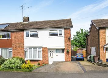 Thumbnail 4 bed semi-detached house for sale in Westfield Drive, Harpenden