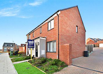 Thumbnail 3 bed semi-detached house for sale in Swann Street, Castle Hill, Ebbsfleet Valley, Swanscombe