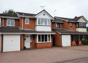 Thumbnail 4 bed detached house for sale in Cairns Drive, Stafford