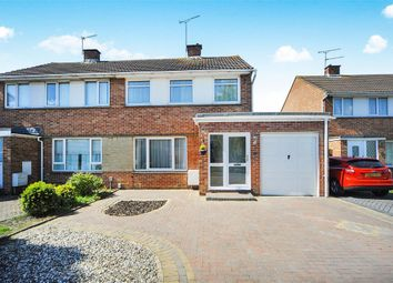 Thumbnail 3 bed semi-detached house for sale in Shapwick Close, Swindon