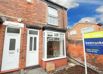 Thumbnail 2 bed end terrace house for sale in Hildas Avenue, Hull