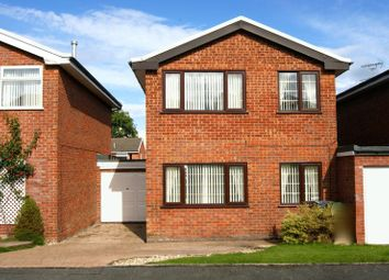 Thumbnail 4 bed link-detached house for sale in Beacon Road, Summerhill, Wrexham