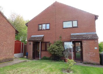 Thumbnail 1 bed terraced house for sale in Webster Close, Stoke Holy Cross, Norwich