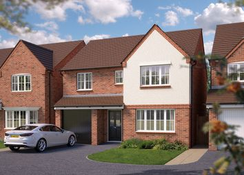 "Thumbnail 4 bed detached house for sale in ""The Montford"" at Squinter Pip Way, Bowbrook, Shrewsbury"