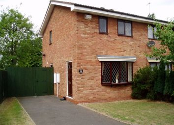 Thumbnail 2 bedroom semi-detached house to rent in Warmley Close, Dunstall, Wolverhampton
