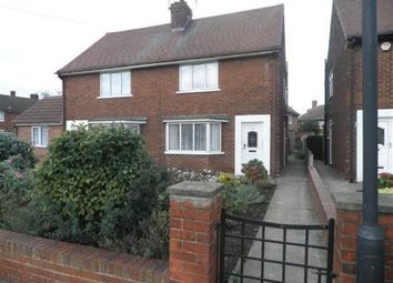 Thumbnail 2 bed semi-detached house to rent in Westminster Crescent, Intake, Doncaster