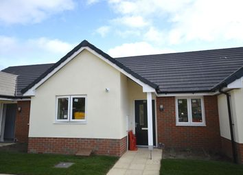 Thumbnail 2 bed bungalow for sale in Gower Place, Oswestry