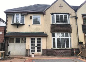 Thumbnail 4 bed semi-detached house to rent in Sutton Road, Walsall, West Midlands