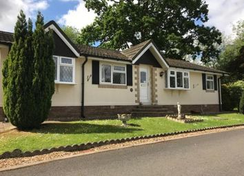 Thumbnail 3 bed mobile/park home for sale in Stanton, Bury St. Edmunds, Suffolk