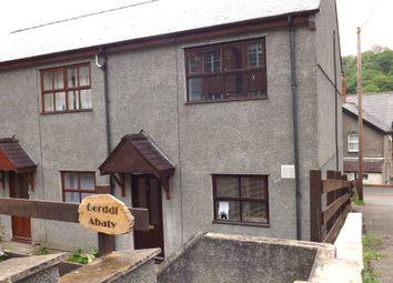 Thumbnail 2 bed semi-detached house to rent in Gerddi'r Abaty, Bangor, Gwynedd