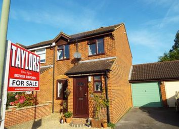 Thumbnail 3 bedroom semi-detached house for sale in Manston Close, Bicester, Oxfordshire