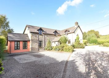 Thumbnail 5 bed detached house for sale in Trallong, Brecon 8Hr