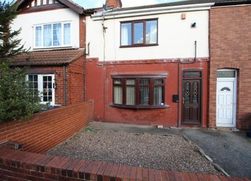 Thumbnail 2 bed terraced house for sale in Manor Road, Askern, Doncaster