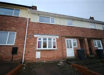 Thumbnail 3 bed terraced house to rent in York Avenue, Moorside, Consett