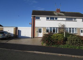 Thumbnail 3 bed semi-detached house for sale in School Road, Eccleshall, Stafford