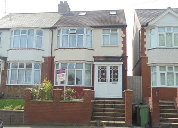 Thumbnail 4 bed semi-detached house for sale in Black Swan Lane, Luton