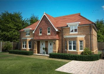 Thumbnail 2 bed semi-detached house for sale in Coming Soon! Old Bakery Gardens, Whyke Lane, Chichester