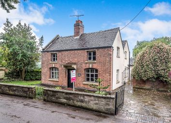 Thumbnail 3 bed detached house for sale in Church Lane, Checkley, Stoke-On-Trent