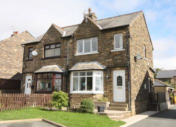 Thumbnail 3 bed semi-detached house for sale in Wade House Avenue, Shelf, Halifax