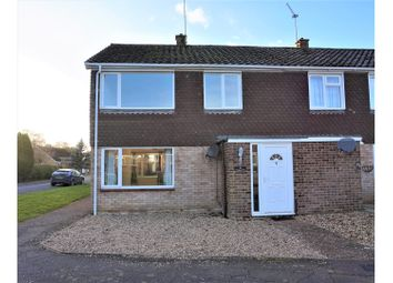 Thumbnail 3 bedroom end terrace house for sale in The Paddocks, Swaffham