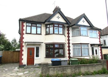 Thumbnail 3 bed semi-detached house to rent in Ashley Gardens, Wembley