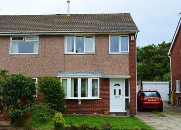 Thumbnail 3 bed semi-detached house for sale in Aintree Crescent, Southport