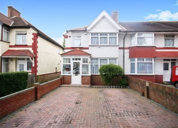 Thumbnail 3 bed end terrace house for sale in Mornington Road, Greenford