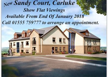 Thumbnail 2 bed flat for sale in Sandy Court, Sandy Road, Carluke