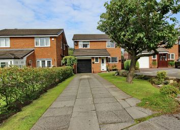 Thumbnail 4 bed detached house for sale in Hastings Close, Whitefield, Manchester