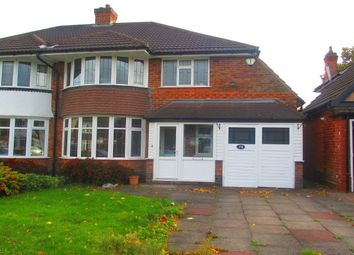 Thumbnail 3 bedroom property to rent in Beeches Drive, Erdington, Birmingham