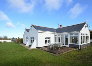 Thumbnail 3 bed detached bungalow for sale in Brynford, Holywell