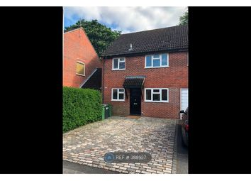Thumbnail 3 bed semi-detached house to rent in Lipscombe Close, Newbury