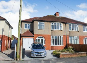 Thumbnail 4 bed semi-detached house for sale in Clifton Avenue, Ashton-On-Ribble, Preston, Lancashire