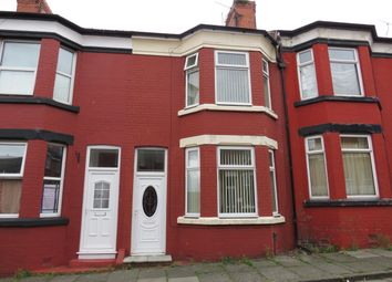 Thumbnail 3 bed terraced house to rent in Onslow Road, New Ferry, Wirral