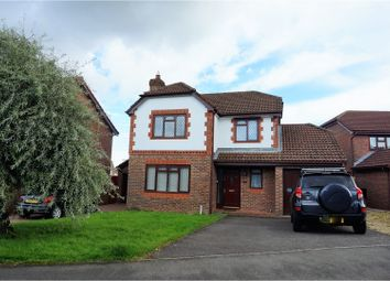 Thumbnail 4 bed detached house for sale in Rogerstone, Newport