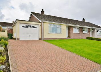 Thumbnail 2 bed semi-detached bungalow for sale in Newlands Park, Dearham, Maryport