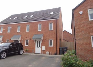 Thumbnail 3 bed town house for sale in Hatchford Brook Way, Sheldon, Birmingham