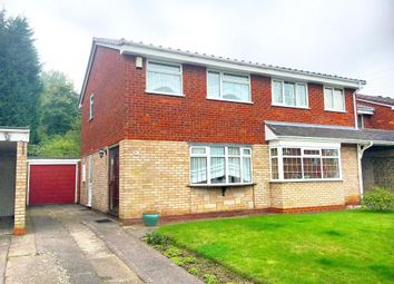 Thumbnail 3 bed semi-detached house for sale in Burghley Drive, West Bromwich, West Midlands