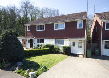 Thumbnail 3 bed semi-detached house for sale in Firsgrove Crescent, Warley, Brentwood
