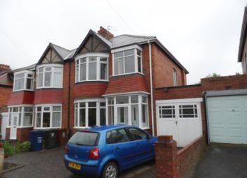Thumbnail 3 bedroom property to rent in Southwood Gardens, Kenton, Newcastle Upon Tyne