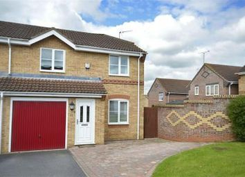 Thumbnail 3 bed semi-detached house for sale in Andrews Way, Raunds, Northamptonshire