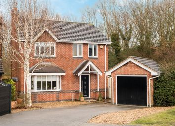 Thumbnail 4 bed detached house for sale in Rowe Leyes Furlong, Rothley, Leicester