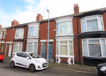 Thumbnail 2 bed terraced house to rent in Clive Road, Middlesbrough