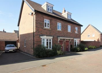 Thumbnail 3 bed semi-detached house for sale in Potters Way, Measham