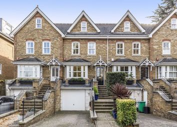 Thumbnail 4 bed terraced house for sale in Cromwell Road, Teddington