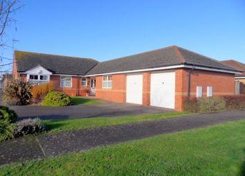 Thumbnail 4 bed detached bungalow for sale in Kestrel Close, Sutton Bridge, Spalding, Lincolnshire