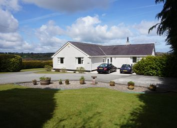 Thumbnail 4 bed detached bungalow for sale in Lon Benllech, Pentraeth