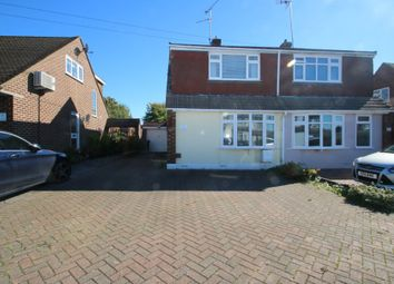 Thumbnail 3 bed semi-detached house for sale in Leamington Road, Hockley