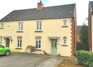 Thumbnail 3 bed semi-detached house for sale in Heol-Y-Cwrt, North Cornelly