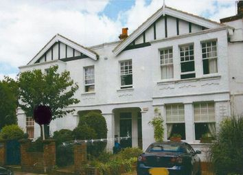 Thumbnail 3 bed flat to rent in Vicarage Gardens, London